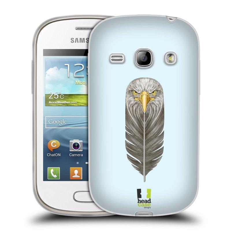 Silikonové pouzdro na mobil Samsung Galaxy Fame HEAD CASE PÍRKO OREL (Silikonový kryt či obal na mobilní telefon Samsung Galaxy Fame GT-S6810)