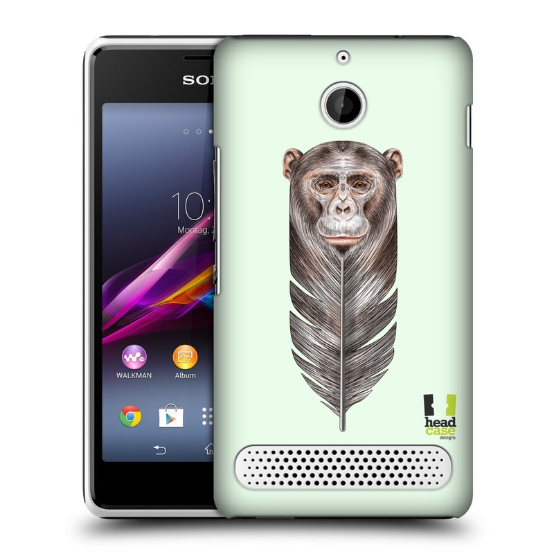 Plastové pouzdro na mobil Sony Xperia E1 D2005 HEAD CASE PÍRKO OPIČKA (Kryt či obal na mobilní telefon Sony Xperia E1 a E1 Dual )