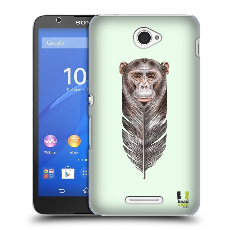 Plastové pouzdro na mobil Sony Xperia E4 E2105 HEAD CASE PÍRKO OPIČKA (Kryt či obal na mobilní telefon Sony Xperia E4 a E4 Dual SIM)