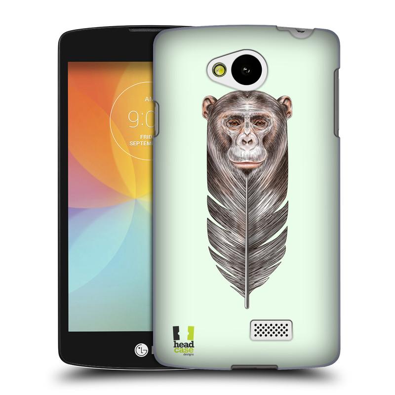 Plastové pouzdro na mobil LG F60 HEAD CASE PÍRKO OPIČKA (Kryt či obal na mobilní telefon LG F60 D390n)