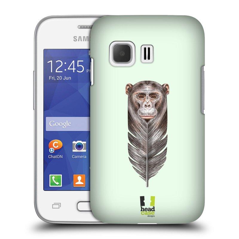 Plastové pouzdro na mobil Samsung Galaxy Young 2 HEAD CASE PÍRKO OPIČKA (Kryt či obal na mobilní telefon Samsung Galaxy Young 2 SM-G130)