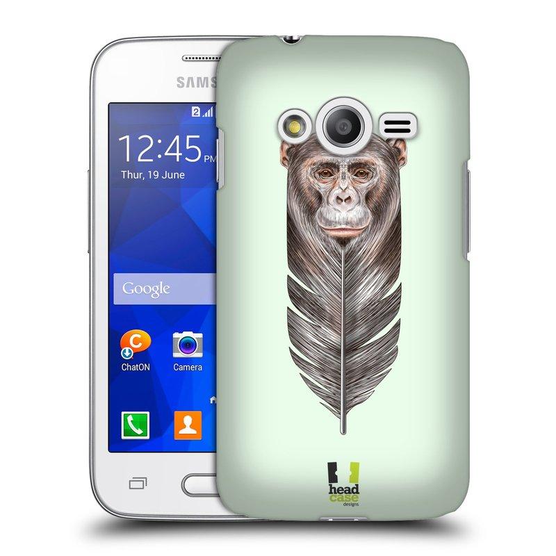 Plastové pouzdro na mobil Samsung Galaxy Trend 2 Lite HEAD CASE PÍRKO OPIČKA (Kryt či obal na mobilní telefon Samsung Galaxy Trend 2 Lite SM-G318)