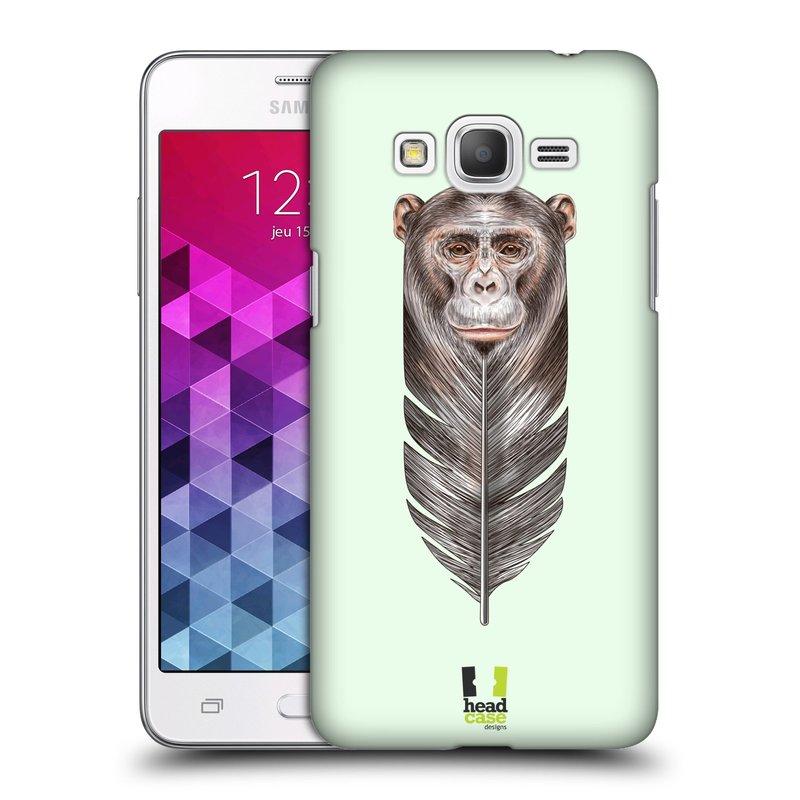 Plastové pouzdro na mobil Samsung Galaxy Grand Prime HEAD CASE PÍRKO OPIČKA (Kryt či obal na mobilní telefon Samsung Galaxy Grand Prime SM-G530)
