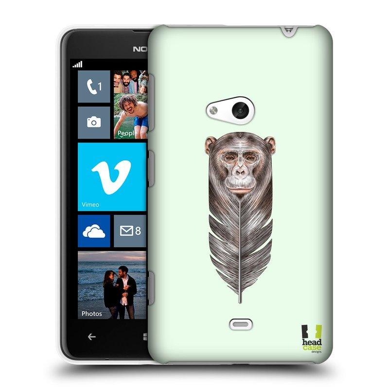 Plastové pouzdro na mobil Nokia Lumia 625 HEAD CASE PÍRKO OPIČKA (Kryt či obal na mobilní telefon Nokia Lumia 625)
