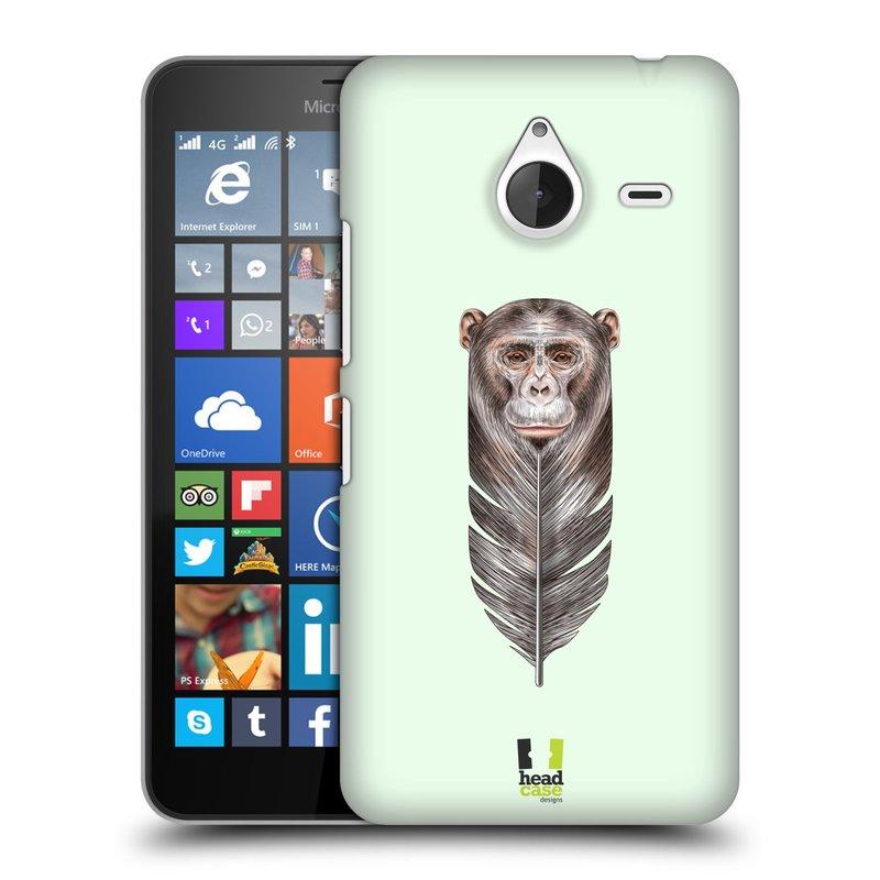 Plastové pouzdro na mobil Microsoft Lumia 640 XL HEAD CASE PÍRKO OPIČKA (Kryt či obal na mobilní telefon Microsoft Lumia 640 XL)