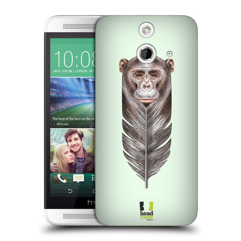 Plastové pouzdro na mobil HTC ONE E8 HEAD CASE PÍRKO OPIČKA (Kryt či obal na mobilní telefon HTC ONE E8)