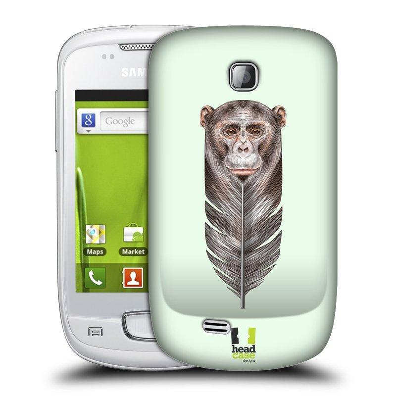 Plastové pouzdro na mobil Samsung Galaxy Mini HEAD CASE PÍRKO OPIČKA (Kryt či obal na mobilní telefon Samsung Galaxy Mini GT-S5570 / GT-S5570i)