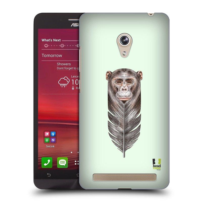 Plastové pouzdro na mobil Asus Zenfone 6 HEAD CASE PÍRKO OPIČKA (Kryt či obal na mobilní telefon Asus Zenfone 6 A600CG / A601CG)