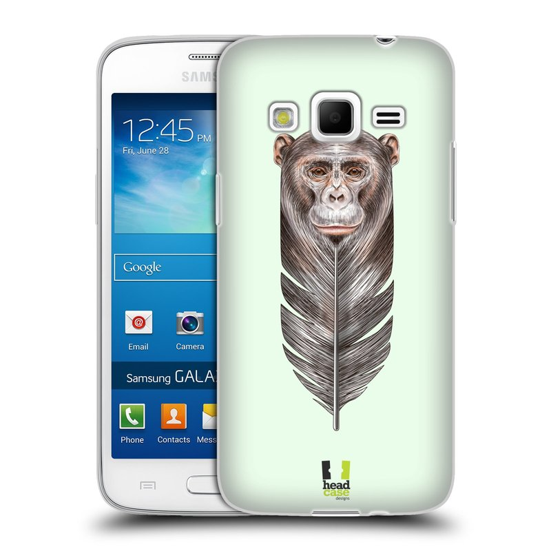 Silikonové pouzdro na mobil Samsung Galaxy Express 2 HEAD CASE PÍRKO OPIČKA (Silikonový kryt či obal na mobilní telefon Samsung Galaxy Express 2 SM-G3815)