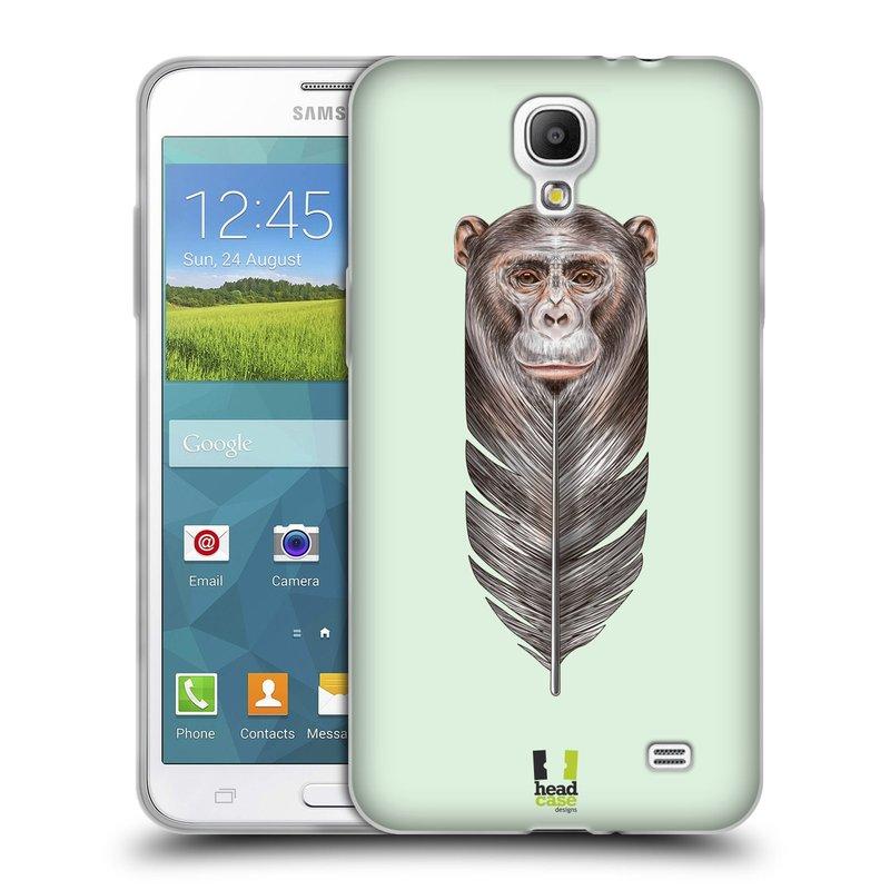 Silikonové pouzdro na mobil Samsung Galaxy Grand Mega 2 HEAD CASE PÍRKO OPIČKA (Silikonový kryt či obal na mobilní telefon Samsung Galaxy Grand Mega 2 SM-G750)