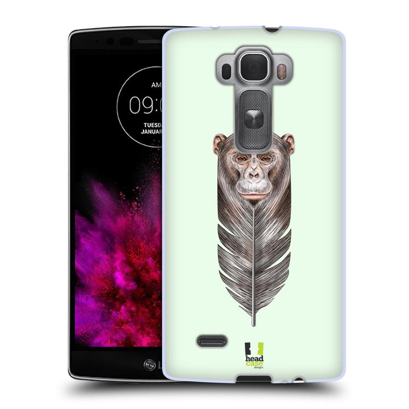 Silikonové pouzdro na mobil LG G Flex 2 HEAD CASE PÍRKO OPIČKA (Silikonový kryt či obal na mobilní telefon LG G Flex 2 H955)