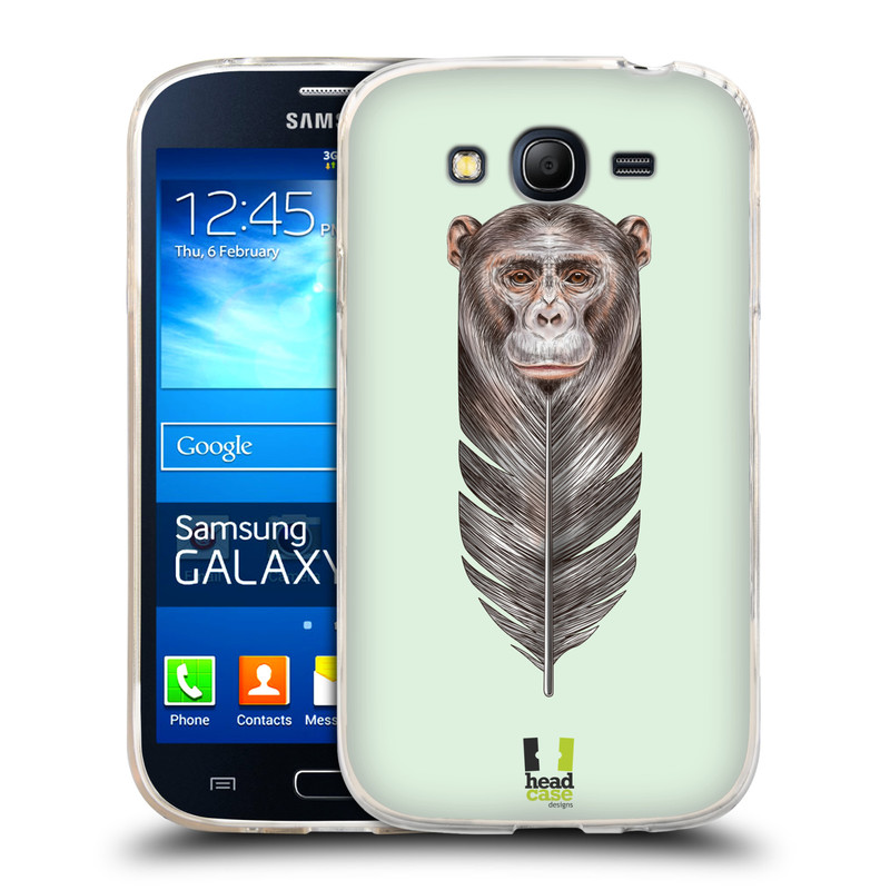 Silikonové pouzdro na mobil Samsung Galaxy Grand Neo HEAD CASE PÍRKO OPIČKA (Silikonový kryt či obal na mobilní telefon Samsung Galaxy Grand Neo GT-I9060)