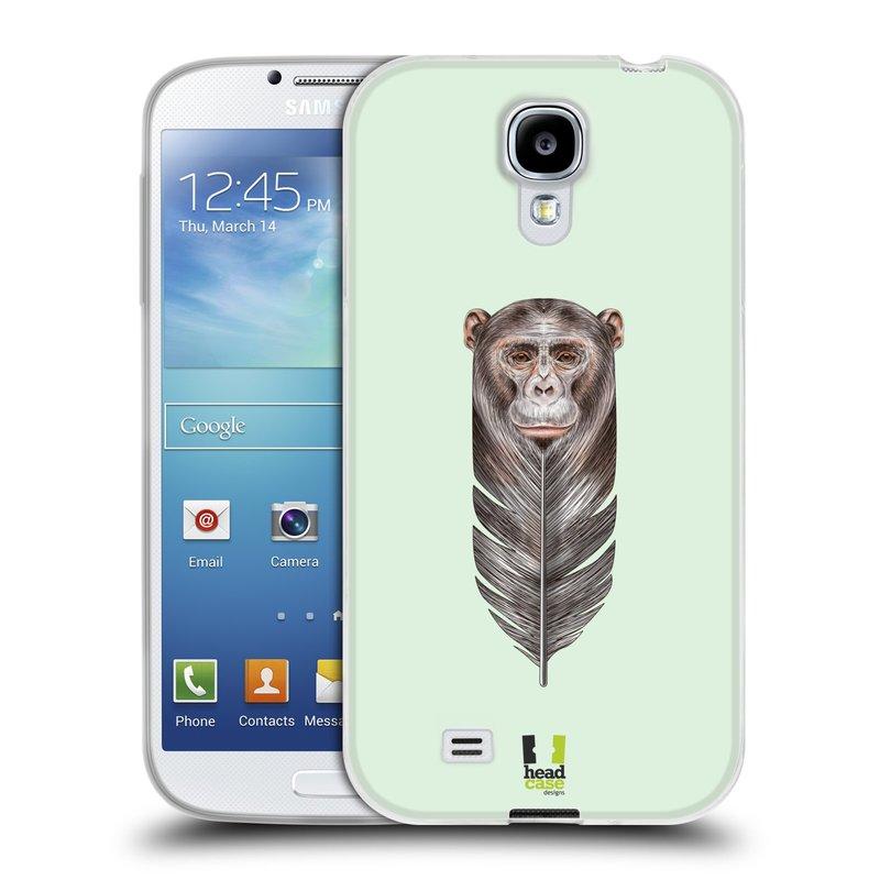 Silikonové pouzdro na mobil Samsung Galaxy S4 HEAD CASE PÍRKO OPIČKA (Silikonový kryt či obal na mobilní telefon Samsung Galaxy S4 GT-i9505 / i9500)