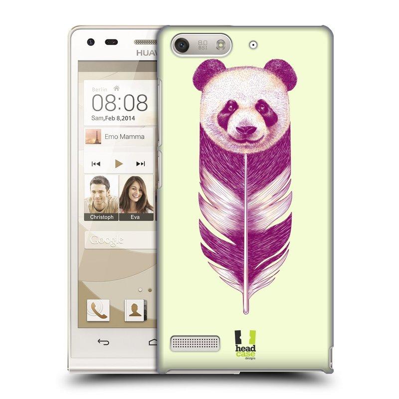 Plastové pouzdro na mobil Huawei Ascend G6 HEAD CASE PÍRKO PANDA (Kryt či obal na mobilní telefon Huawei Ascend G6 bez LTE)