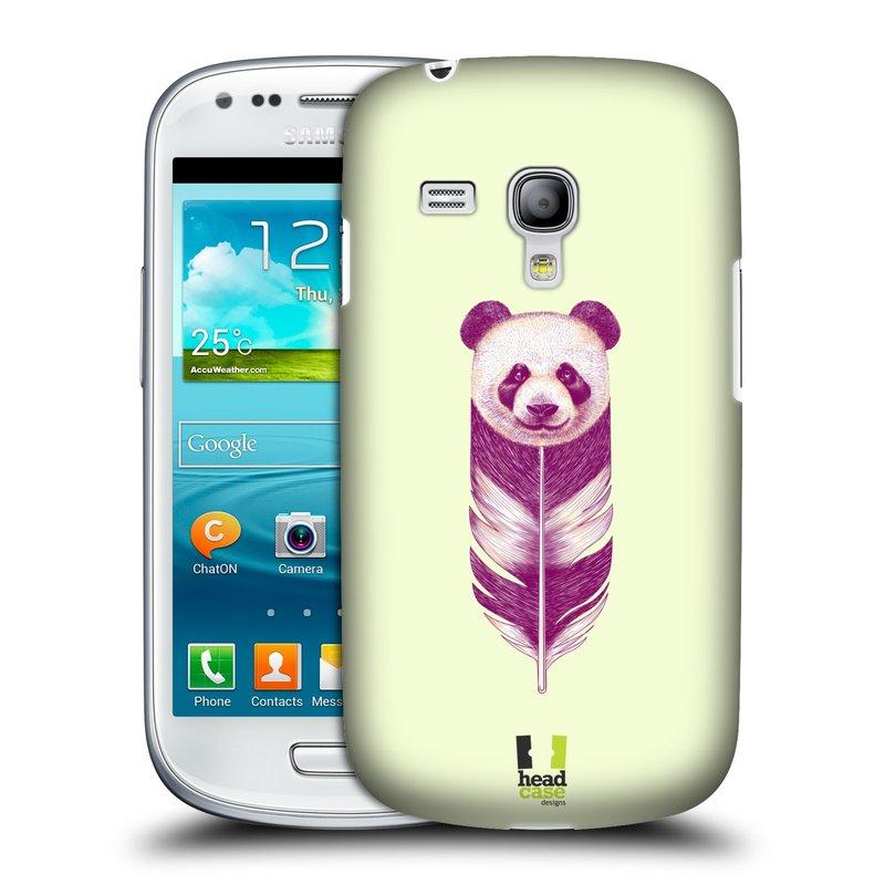 Plastové pouzdro na mobil Samsung Galaxy S III Mini HEAD CASE PÍRKO PANDA (Kryt či obal na mobilní telefon Samsung Galaxy S III Mini GT-i8190)