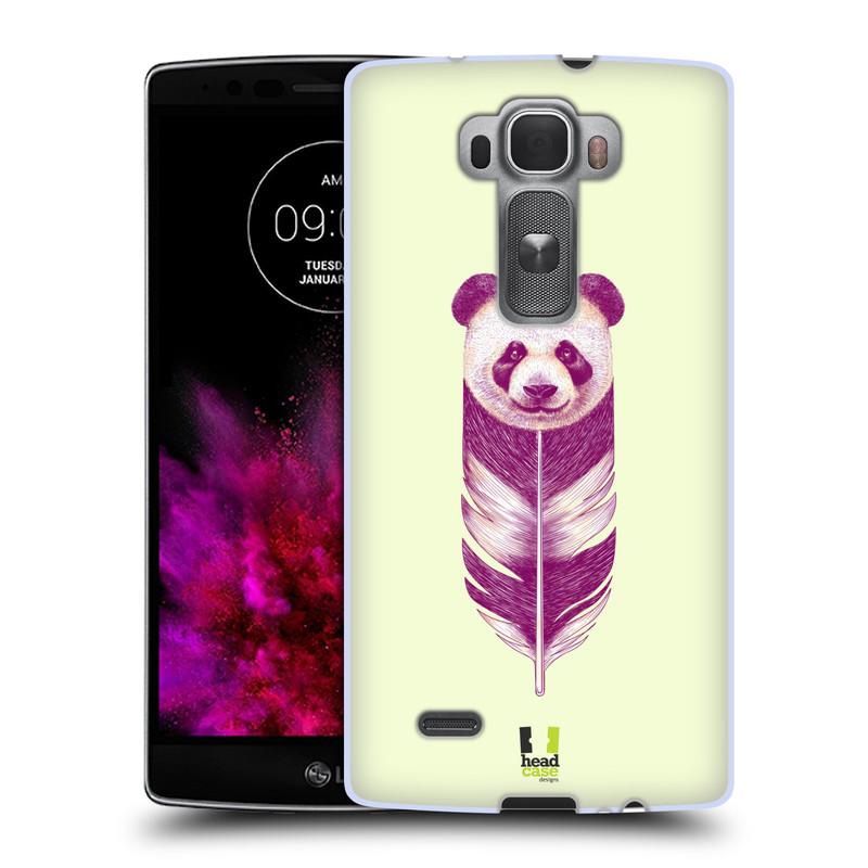 Silikonové pouzdro na mobil LG G Flex 2 HEAD CASE PÍRKO PANDA (Silikonový kryt či obal na mobilní telefon LG G Flex 2 H955)