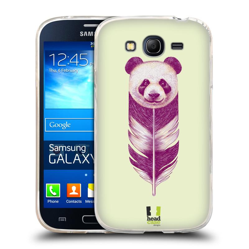 Silikonové pouzdro na mobil Samsung Galaxy Grand Neo HEAD CASE PÍRKO PANDA (Silikonový kryt či obal na mobilní telefon Samsung Galaxy Grand Neo GT-I9060)