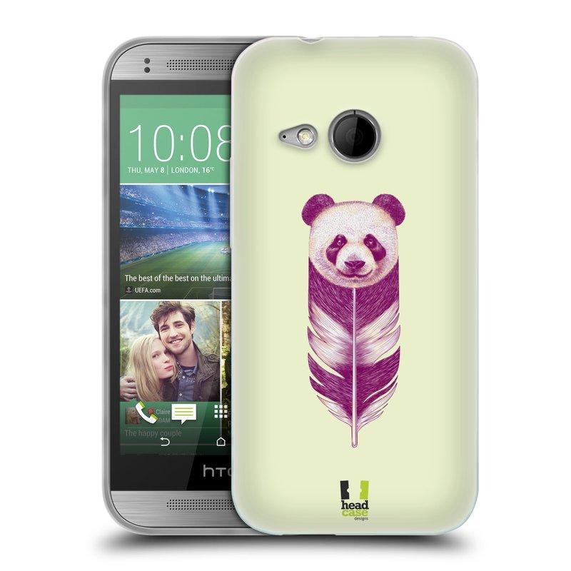Silikonové pouzdro na mobil HTC ONE Mini 2 HEAD CASE PÍRKO PANDA (Silikonový kryt či obal na mobilní telefon HTC ONE Mini 2)