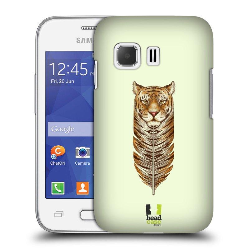 Plastové pouzdro na mobil Samsung Galaxy Young 2 HEAD CASE PÍRKO TYGR (Kryt či obal na mobilní telefon Samsung Galaxy Young 2 SM-G130)