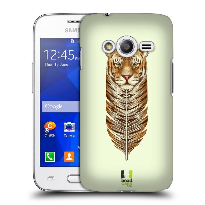 Plastové pouzdro na mobil Samsung Galaxy Trend 2 Lite HEAD CASE PÍRKO TYGR (Kryt či obal na mobilní telefon Samsung Galaxy Trend 2 Lite SM-G318)