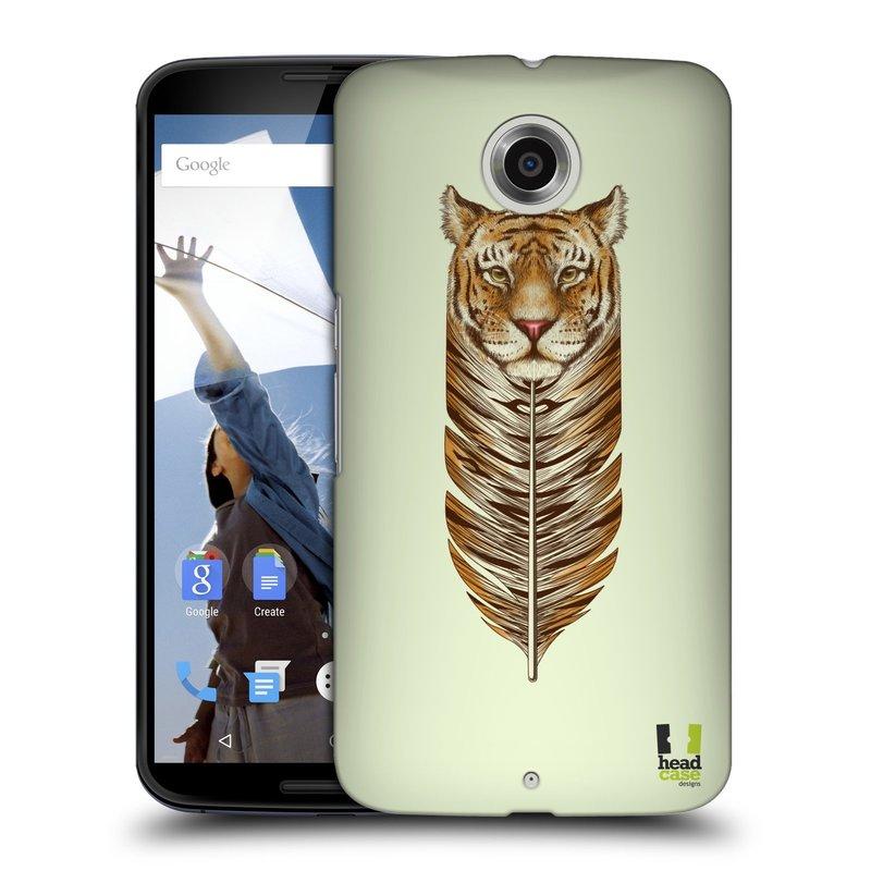 Plastové pouzdro na mobil Motorola Nexus 6 HEAD CASE PÍRKO TYGR (Kryt či obal na mobilní telefon Motorola Nexus 6)
