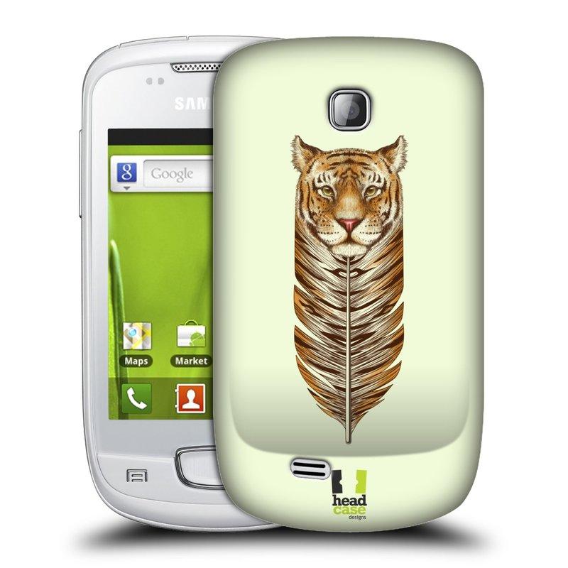 Plastové pouzdro na mobil Samsung Galaxy Mini HEAD CASE PÍRKO TYGR (Kryt či obal na mobilní telefon Samsung Galaxy Mini GT-S5570 / GT-S5570i)