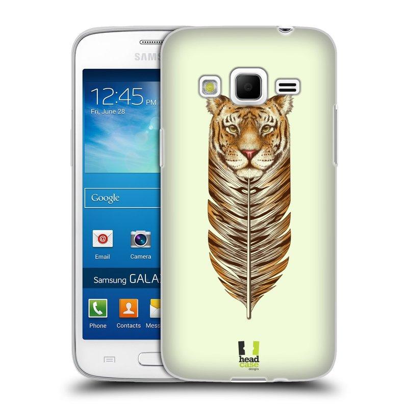 Silikonové pouzdro na mobil Samsung Galaxy Express 2 HEAD CASE PÍRKO TYGR (Silikonový kryt či obal na mobilní telefon Samsung Galaxy Express 2 SM-G3815)