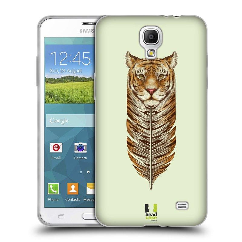 Silikonové pouzdro na mobil Samsung Galaxy Grand Mega 2 HEAD CASE PÍRKO TYGR (Silikonový kryt či obal na mobilní telefon Samsung Galaxy Grand Mega 2 SM-G750)