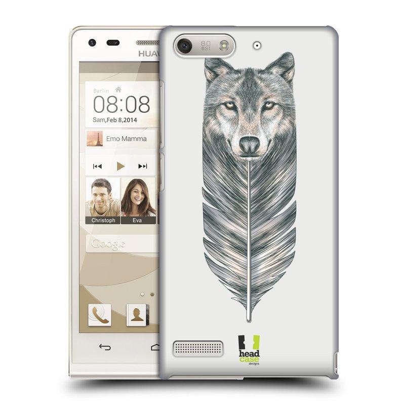 Plastové pouzdro na mobil Huawei Ascend G6 HEAD CASE PÍRKO VLK (Kryt či obal na mobilní telefon Huawei Ascend G6 bez LTE)