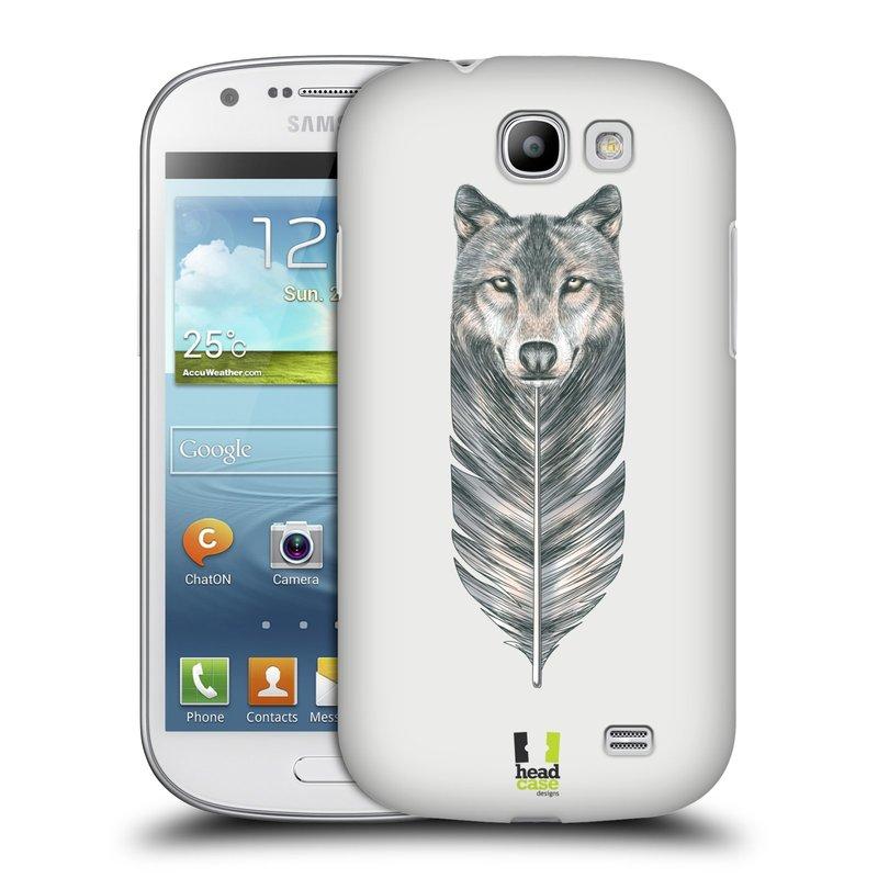 Plastové pouzdro na mobil Samsung Galaxy Express HEAD CASE PÍRKO VLK (Kryt či obal na mobilní telefon Samsung Galaxy Express GT-i8730)