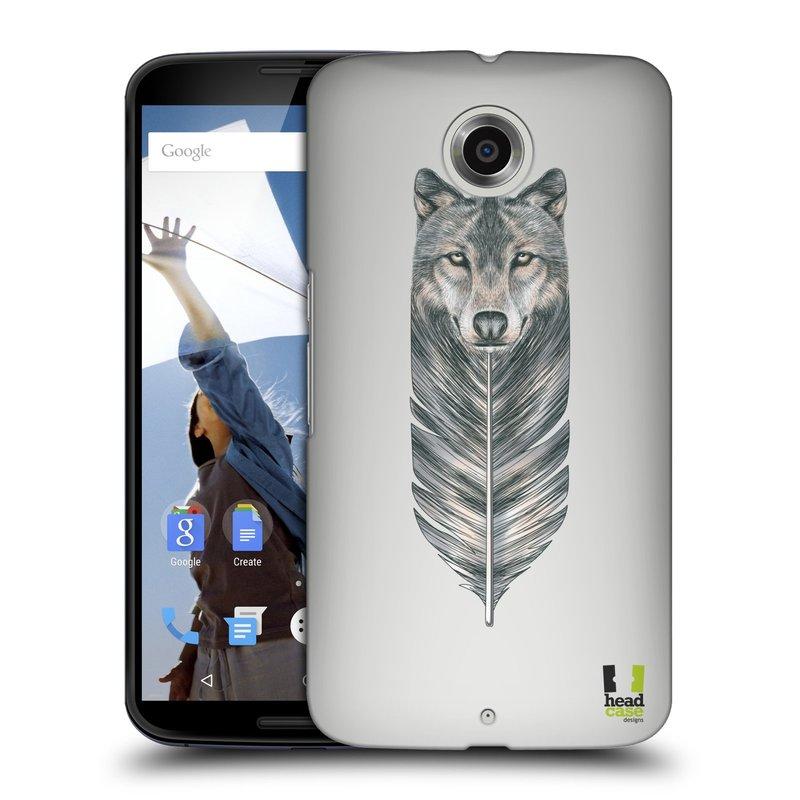 Plastové pouzdro na mobil Motorola Nexus 6 HEAD CASE PÍRKO VLK (Kryt či obal na mobilní telefon Motorola Nexus 6)