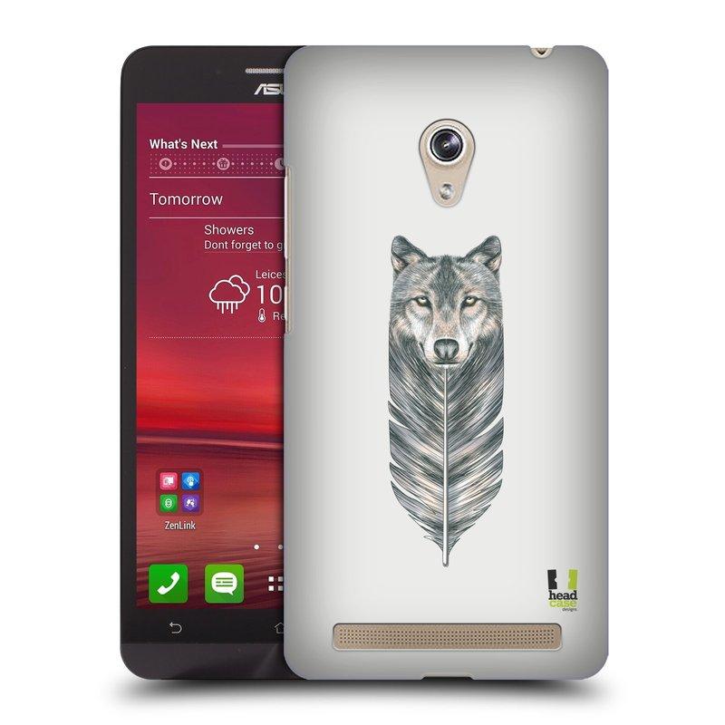 Plastové pouzdro na mobil Asus Zenfone 6 HEAD CASE PÍRKO VLK (Kryt či obal na mobilní telefon Asus Zenfone 6 A600CG / A601CG)