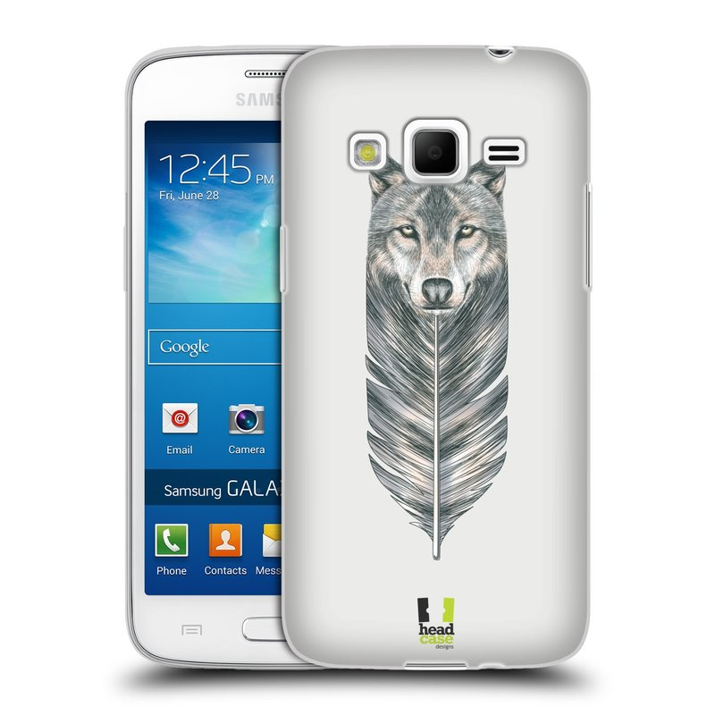 Silikonové pouzdro na mobil Samsung Galaxy Express 2 HEAD CASE PÍRKO VLK (Silikonový kryt či obal na mobilní telefon Samsung Galaxy Express 2 SM-G3815)