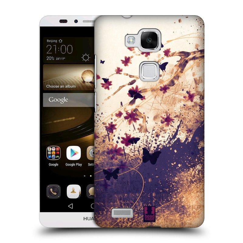 Plastové pouzdro na mobil Huawei Ascend Mate 7 HEAD CASE MOTÝLCI (Kryt či obal na mobilní telefon Huawei Ascend Mate7)