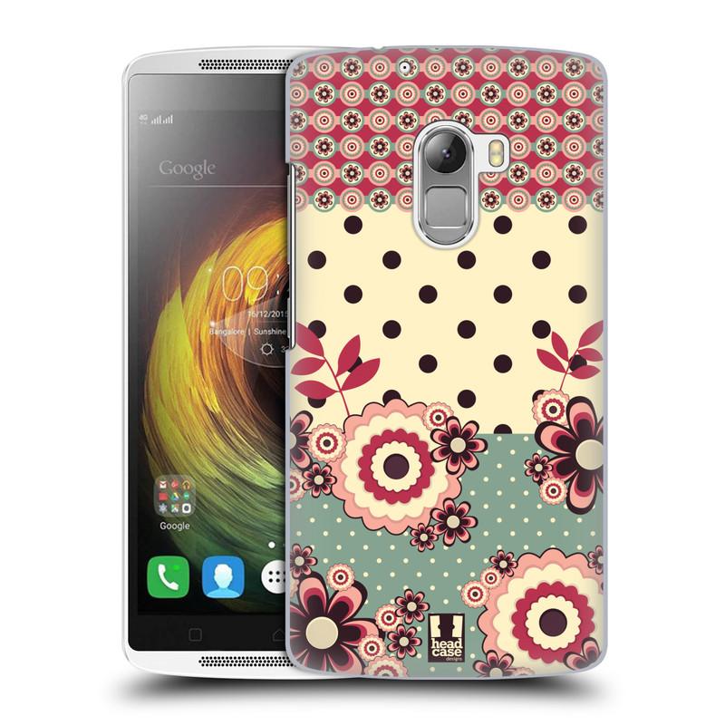 Plastové pouzdro na mobil Lenovo A7010 HEAD CASE KVÍTKA PINK CREAM (Kryt či obal na mobilní telefon Lenovo A7010 Dual SIM / K4 Note / Vibe X3 Lite)