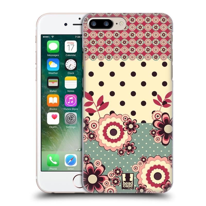 Plastové pouzdro na mobil Apple iPhone 7 Plus HEAD CASE KVÍTKA PINK CREAM (Plastový kryt či obal na mobilní telefon Apple iPhone 7 Plus)