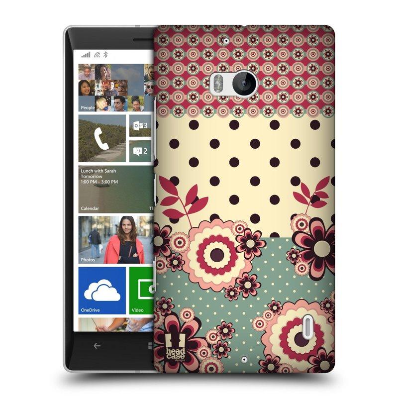 Pouzdro na mobil Nokia Lumia 930 HEAD CASE KVÍTKA PINK CREAM (Kryt či obal na mobilní telefon Nokia Lumia 930)