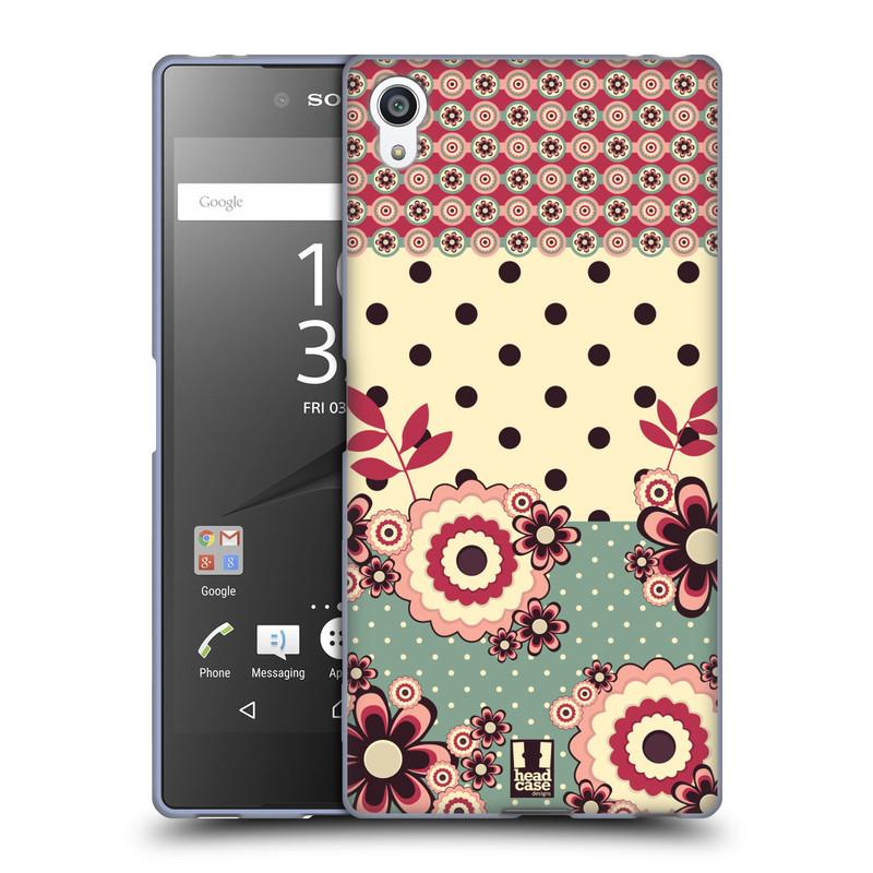 Silikonové pouzdro na mobil Sony Xperia Z5 Premium HEAD CASE KVÍTKA PINK CREAM (Silikonový kryt či obal na mobilní telefon Sony Xperia Z5 Premium E6853)