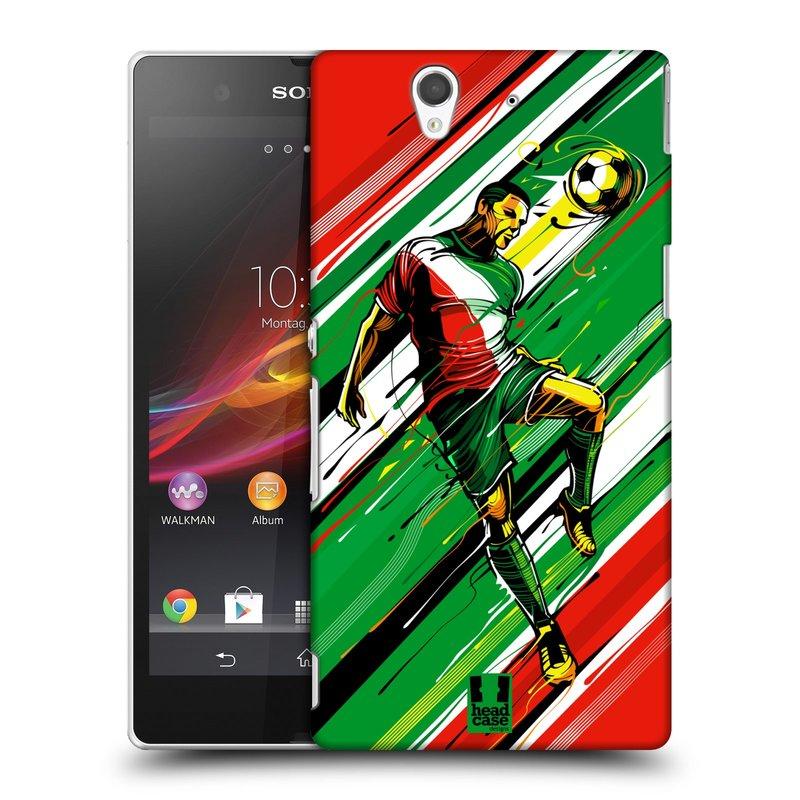 Plastové pouzdro na mobil Sony Xperia Z C6603 HEAD CASE HLAVIČKA (Kryt či obal na mobilní telefon Sony Xperia Z )