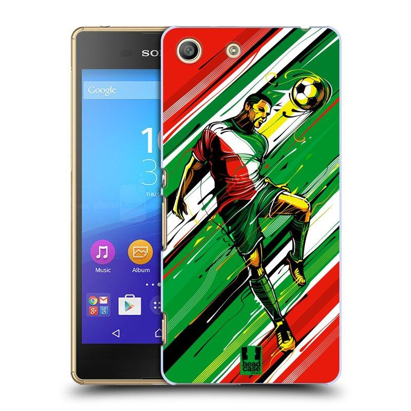 Plastové pouzdro na mobil Sony Xperia M5 HEAD CASE HLAVIČKA (Kryt či obal na mobilní telefon Sony Xperia M5 Aqua)
