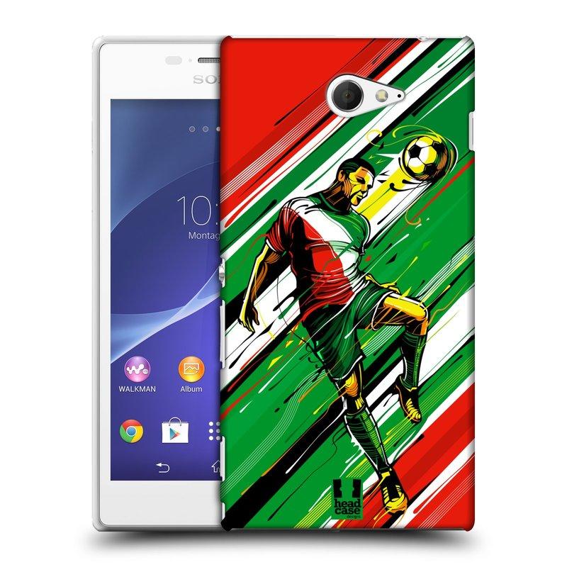 Plastové pouzdro na mobil Sony Xperia M2 D2303 HEAD CASE HLAVIČKA (Kryt či obal na mobilní telefon Sony Xperia M2 )