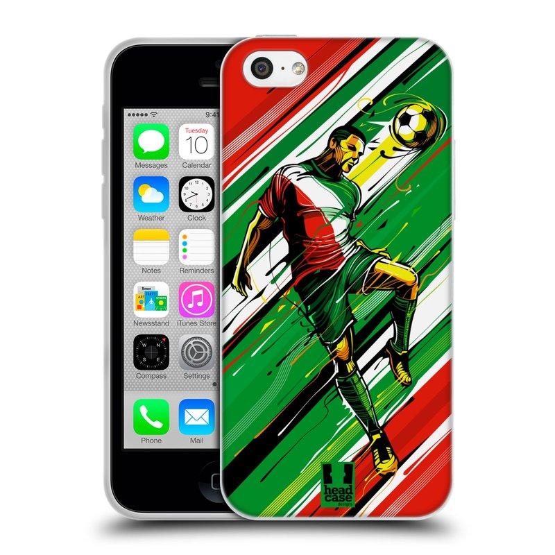 Silikonové pouzdro na mobil Apple iPhone 5C HEAD CASE HLAVIČKA (Silikonový kryt či obal na mobilní telefon Apple iPhone 5C)
