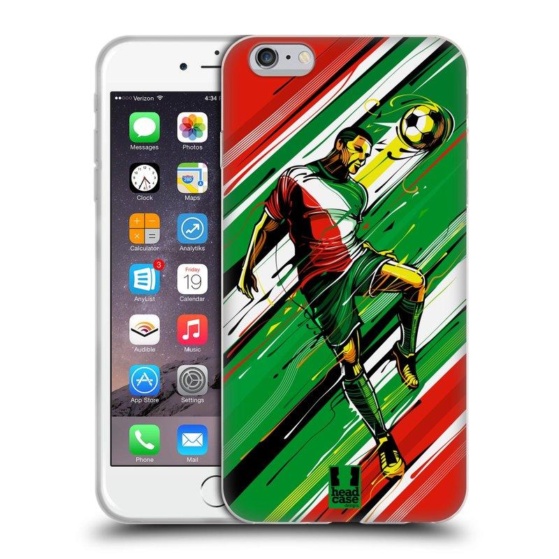 Silikonové pouzdro na mobil Apple iPhone 6 Plus a 6S Plus HEAD CASE HLAVIČKA (Silikonový kryt či obal na mobilní telefon Apple iPhone 6 Plus a 6S Plus)