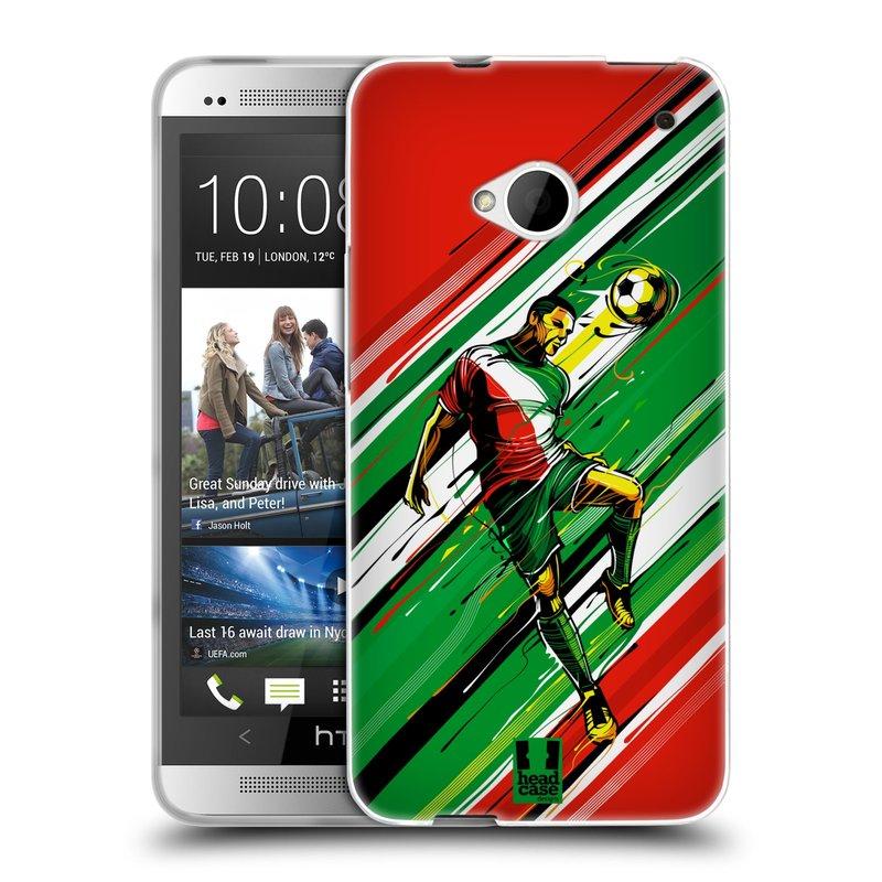 Silikonové pouzdro na mobil HTC ONE M7 HEAD CASE HLAVIČKA (Silikonový kryt či obal na mobilní telefon HTC ONE M7)
