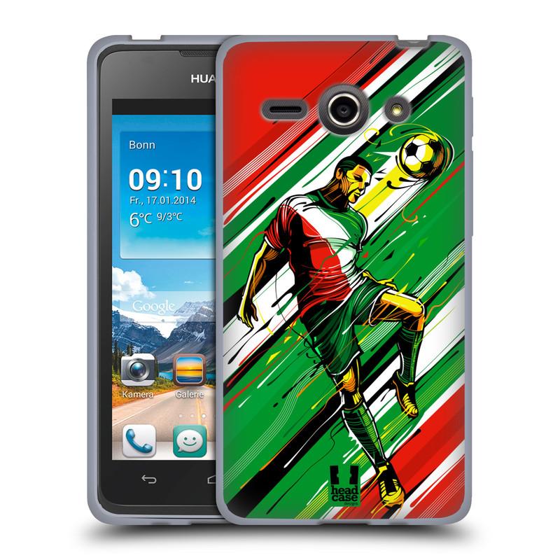 Silikonové pouzdro na mobil Huawei Ascend Y530 HEAD CASE HLAVIČKA (Silikonový kryt či obal na mobilní telefon Huawei Ascend Y530)