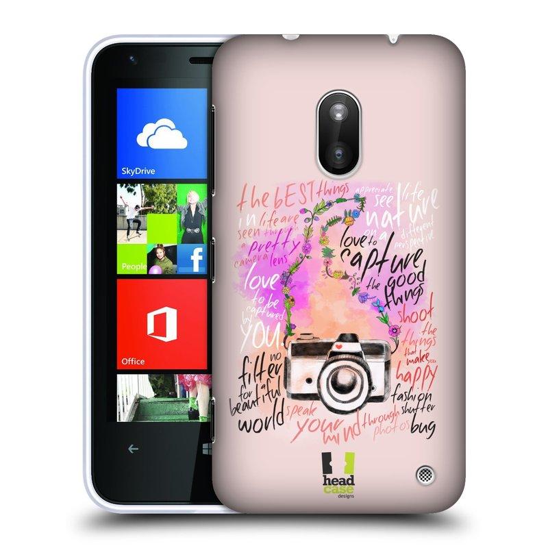 Plastové pouzdro na mobil Nokia Lumia 620 HEAD CASE Shutter photo (Kryt či obal na mobilní telefon Nokia Lumia 620)