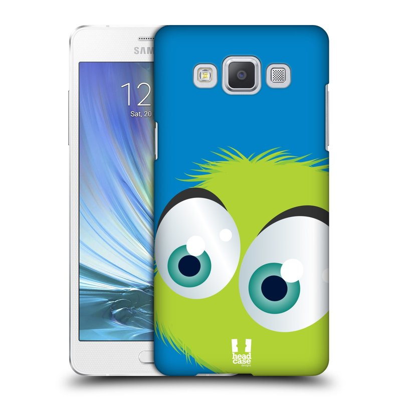 Plastové pouzdro na mobil Samsung Galaxy A5 HEAD CASE FUZÍK ZELENÝ (Kryt či obal na mobilní telefon Samsung Galaxy A5 SM-A500)