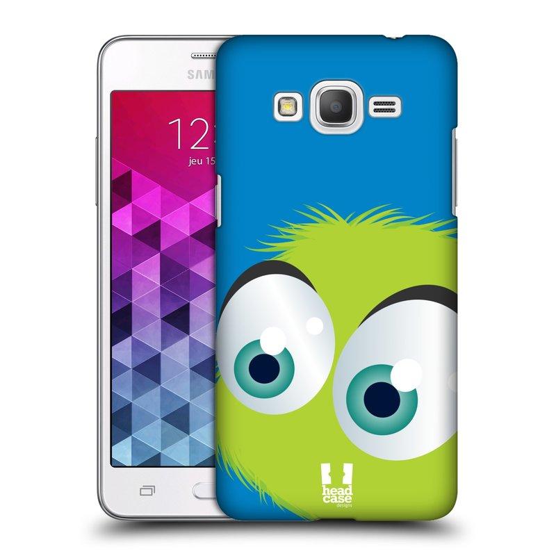 Plastové pouzdro na mobil Samsung Galaxy Grand Prime HEAD CASE FUZÍK ZELENÝ (Kryt či obal na mobilní telefon Samsung Galaxy Grand Prime SM-G530)