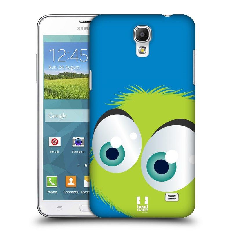 Plastové pouzdro na mobil Samsung Galaxy Grand Mega 2 HEAD CASE FUZÍK ZELENÝ (Kryt či obal na mobilní telefon Samsung Galaxy Grand Mega 2 SM-G750)