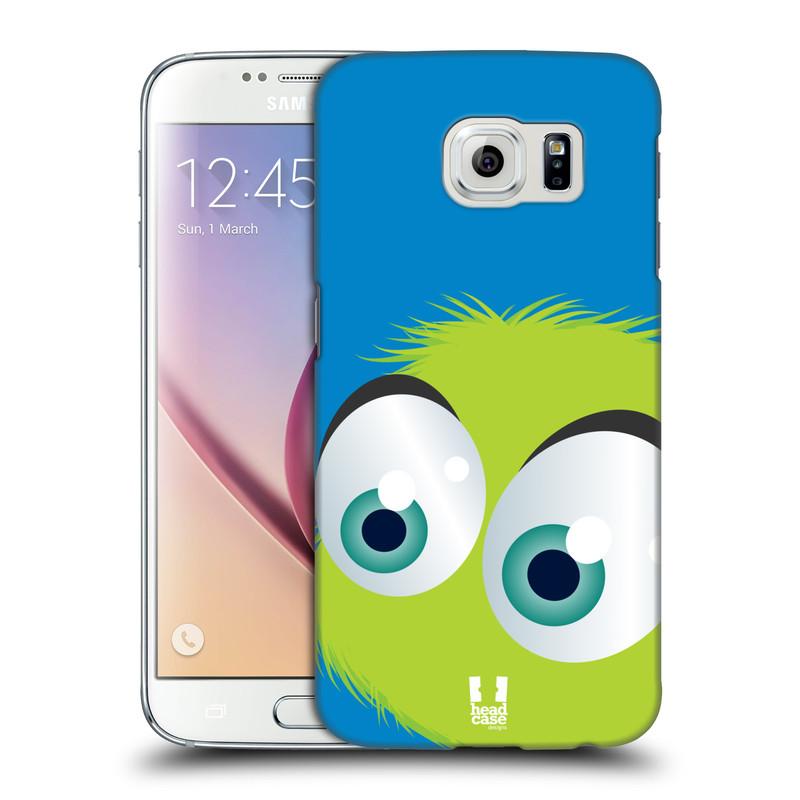Plastové pouzdro na mobil Samsung Galaxy S6 HEAD CASE FUZÍK ZELENÝ (Kryt či obal na mobilní telefon Samsung Galaxy S6 SM-G920F)